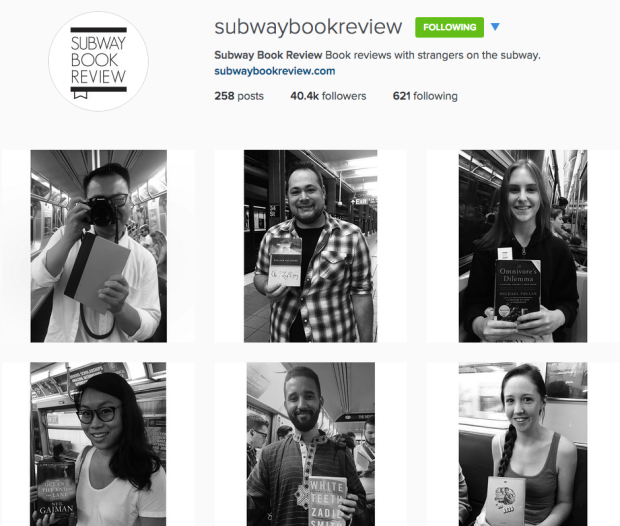 subway book review instagram